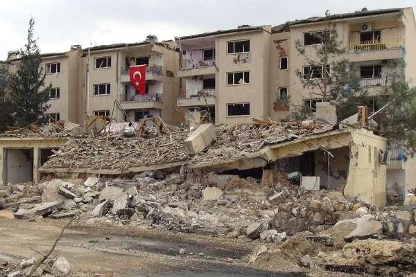 Nusaybin'deki bombalı saldırının tahribat boyutu galerisi resim 11