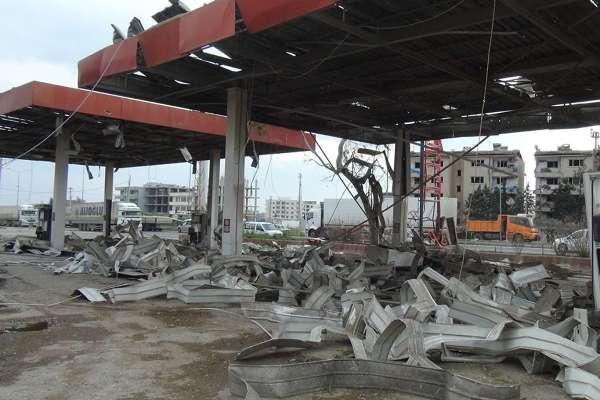 Nusaybin'deki bombalı saldırının tahribat boyutu galerisi resim 13