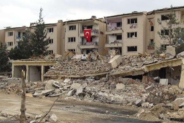 Nusaybin'deki bombalı saldırının tahribat boyutu galerisi resim 15
