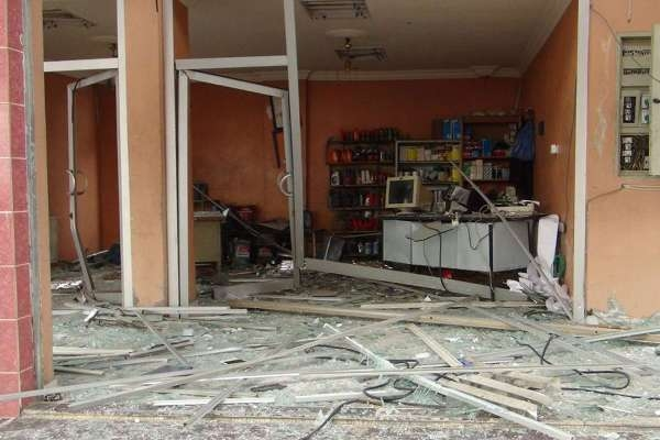 Nusaybin'deki bombalı saldırının tahribat boyutu galerisi resim 16