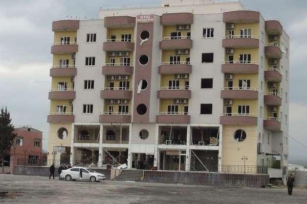 Nusaybin'deki bombalı saldırının tahribat boyutu galerisi resim 19
