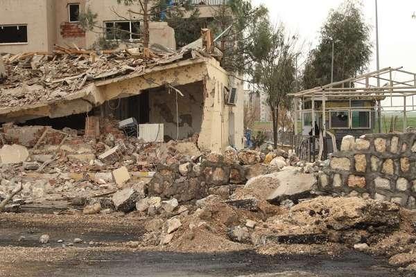 Nusaybin'deki bombalı saldırının tahribat boyutu galerisi resim 3