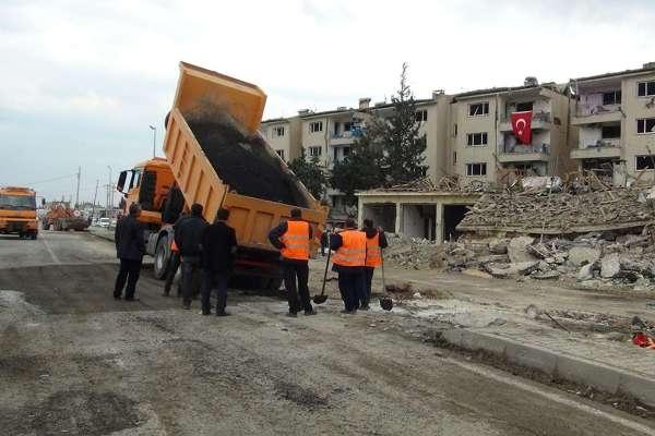Nusaybin'deki bombalı saldırının tahribat boyutu galerisi resim 7