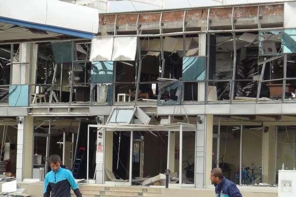 Nusaybin'deki bombalı saldırının tahribat boyutu galerisi resim 9