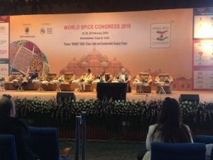 Dünya Baharat Kongresi'ne Ege İhracatçı temsilcileri katıldı