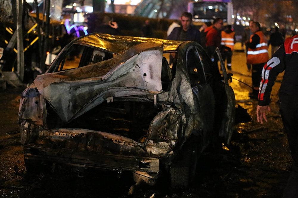 Ankara'nın merkezinde patlama: 34 ölü galerisi resim 1
