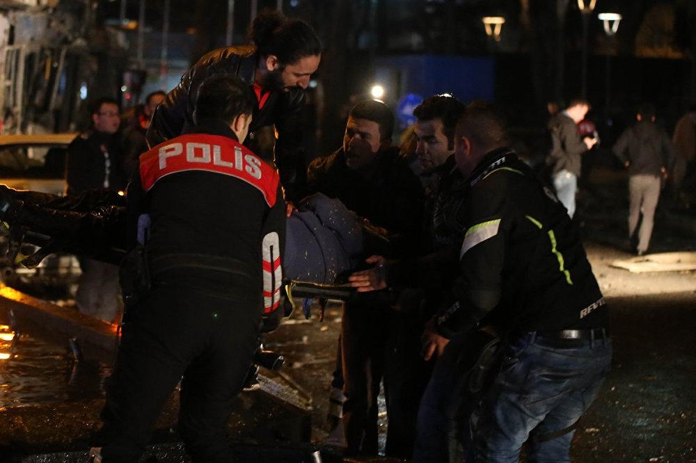 Ankara'nın merkezinde patlama: 34 ölü galerisi resim 2