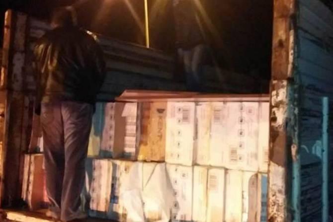 Polis 280 bin paket kaçak sigara ele geçirdi galerisi resim 1