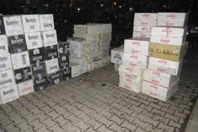 Polis 280 bin paket kaçak sigara ele geçirdi galerisi resim 2