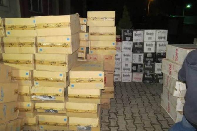 Polis 280 bin paket kaçak sigara ele geçirdi galerisi resim 3