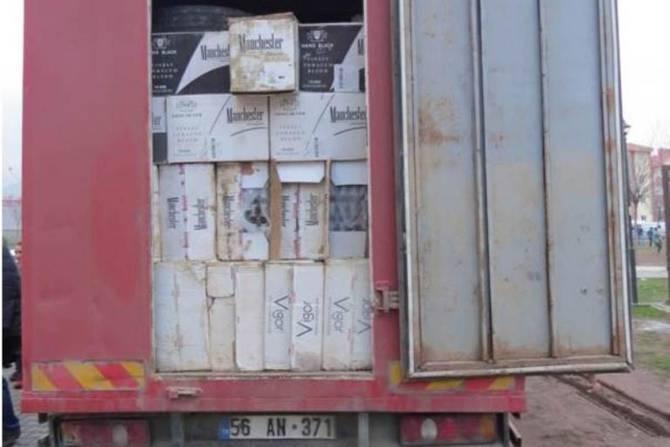 Polis 280 bin paket kaçak sigara ele geçirdi galerisi resim 6