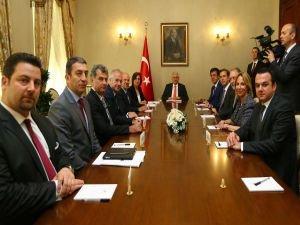 Başbakan Yıldırım, TÜSİAD heyetini kabul etti