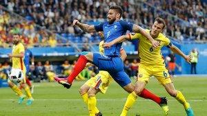 EURO 2016 ilk maç Fransa - Romanya: 2-1