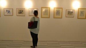 Fikret Mualla'nın sergisi ziyarete açıldı