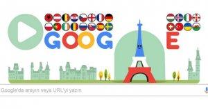 Google'dan EURO 2016 için özel Doodle
