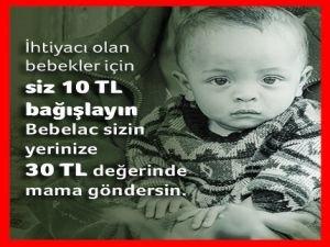 Bebelac ve Kızılay'dan ortak kampanya