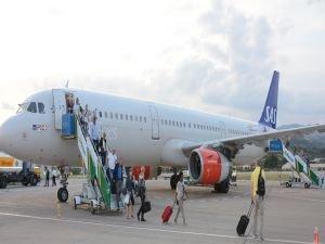 Gazipaşa-Alanya'da ilk Airbus A321 heyecanı
