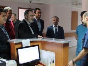 TKHK'dan Mardin'de sağlıkçılara moral ziyareti
