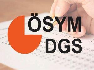 DGS giriş belgeleri yayımlandı