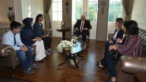 Başbakan TEOG şampiyonlarını kabul etti