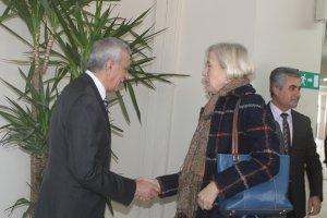Başkonsolos,Linda Specht, Mardin'de
