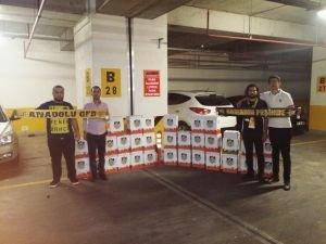 Anadolu GFB'den yardım