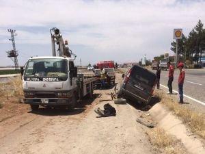 Bismil'de Trafik Kazası