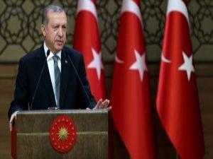 Cumhurbaşkanı Erdoğan polislerle iftar yemeğinde bir araya geldi