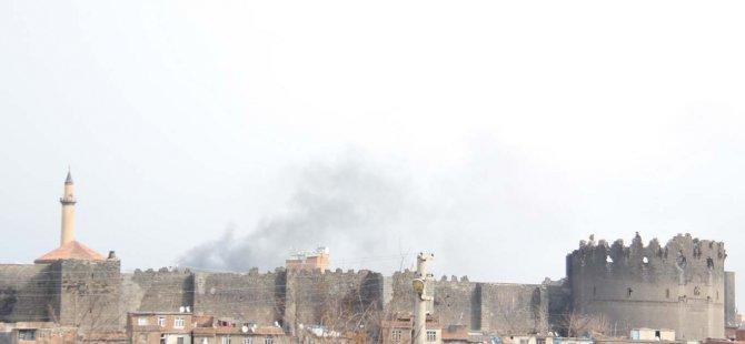 Sur'da çatışma dumanlar yükseliyor