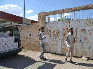 İHO Ebrar Viranşehir'de muhtaçları yüzünü güldürdü