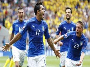 İtalya-İsveç: 1-0