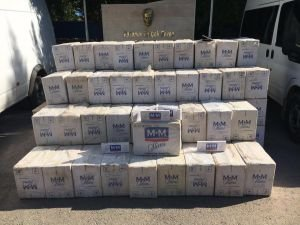 300 bin TL değerinde kaçak sigara ele geçirildi