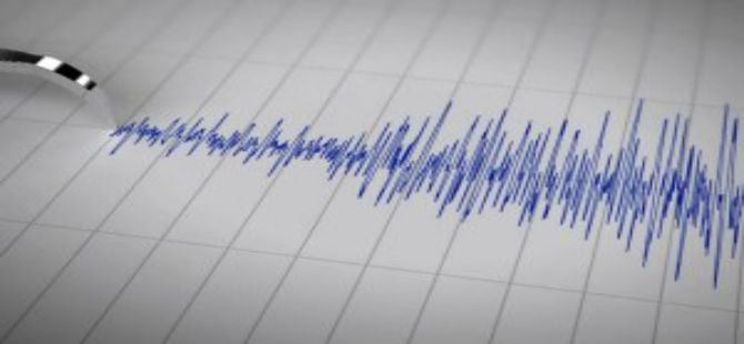 Marmara Denizi'nde 3.2 büyüklüğünde deprem.