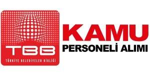 Türkiye Belediyeler Birliği Personel alacak