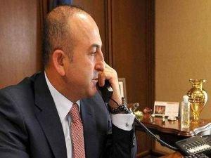 Çavuşoğlu, mevkidaşı Swaraj ile telefonda görüştü