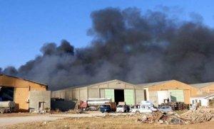 Libya'da silahlığa roket atıldı: 28 ölü