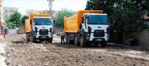 Hendeklere karşı parke taşları yerine asfalt