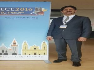 Alper Çelik'e Avrupa Endokrinoloji Kongresi'nden 'Genç Bilim İnsanı' ödülü!