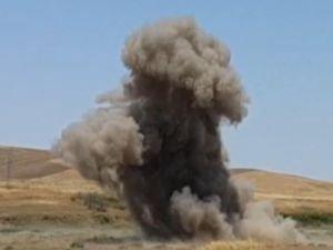 300 KG patlayıcı imha edildi