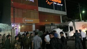 Kürt kanalı Rudaw'a bombalı saldırı