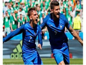 Fransa-İrlanda: 2-1