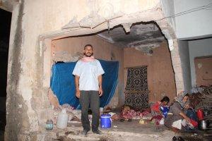 Metruk evde yaşamaya tutulan Suriyeli ailenin dramı