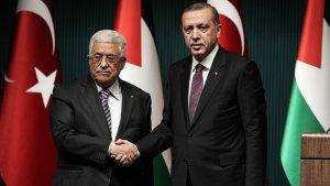 Cumhurbaşkanı Erdoğan Mahmut Abbas ile görüştü