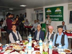 Yapıcıoğlu, Cizre'de iftara katıldı