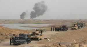 Elbu Gaib Köprüsü'nü Irak ordusu kontrol altına aldı