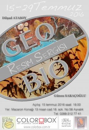 """""""GEO&BIO"""" sanatseverler ile buluşacak"""