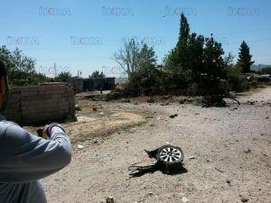 Dicle'de polis aracına saldırı!