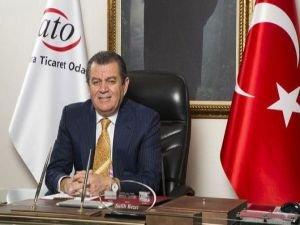 """ATO Başkanı Bezci: """"Hedefleri İç Savaştı, Millet Tarih Yazdı"""""""