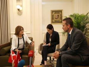Danimarka Dışişleri Bakanı Kristian Jensen  Gaziantep'te