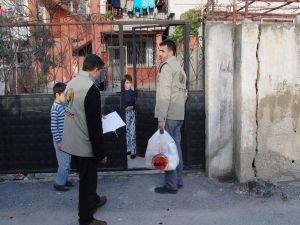 Avrupa Yetim-Der'den muhtaç ailelere yardım